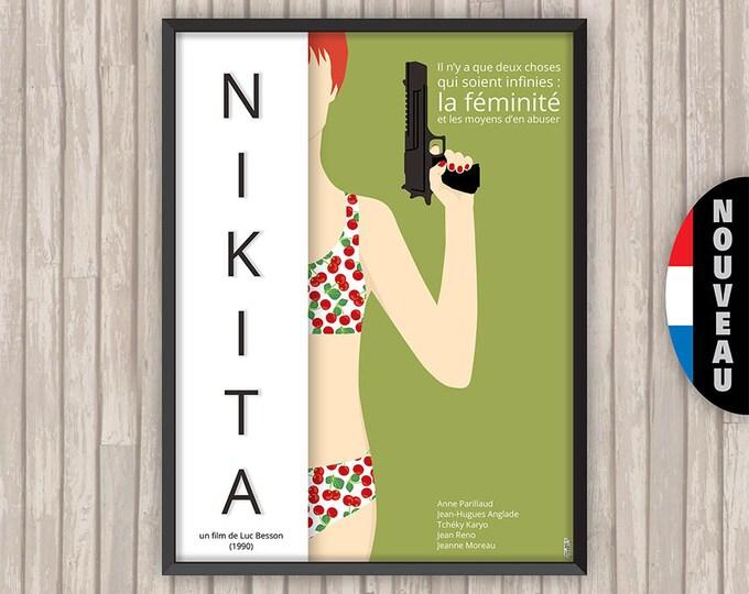 NIKITA, l'affiche revisitée par Lino la Tomate !