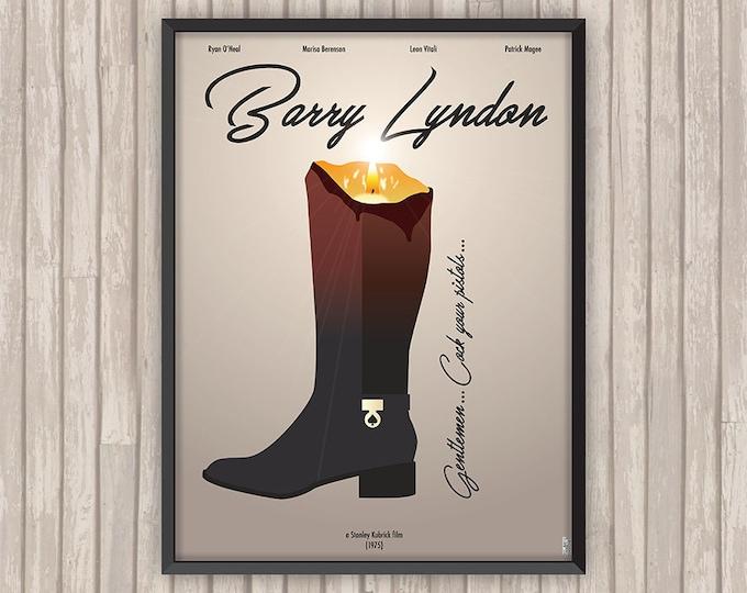 BARRY LYNDON, l'affiche revisitée par Lino la Tomate !