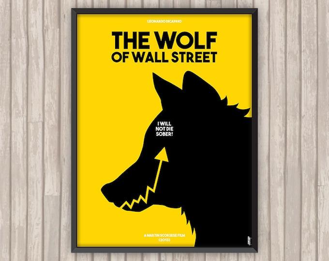 Le LOUP de WALL STREET (The Wolf of Wall Street), l'affiche revisitée par Lino la Tomate !
