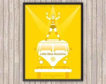 LITTLE MISS SUNSHINE, l'affiche revisitée par Lino la Tomate !