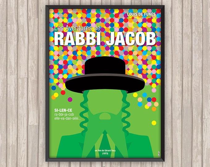 Les Aventures de RABBI JACOB, l'affiche revisitée par Lino la Tomate !