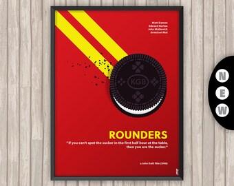 LES JOUEURS (ROUNDERS), l'affiche revisitée par Lino la Tomate !