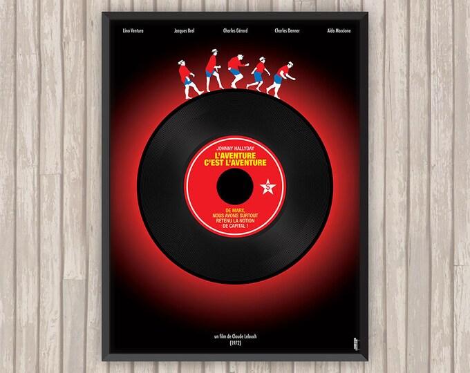 L'AVENTURE C'EST L'AVENTURE, l'affiche revisitée par Lino la Tomate !