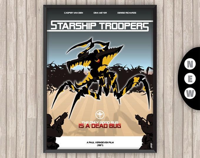 STARSHIP TROOPERS, l'affiche revisitée par Lino la Tomate !