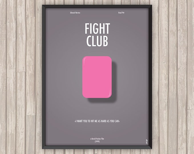 FIGHT CLUB, l'affiche revisitée par Lino la Tomate !