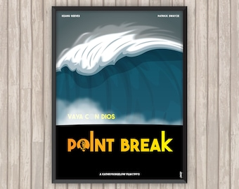 POINT BREAK, l'affiche revisitée par Lino la Tomate !