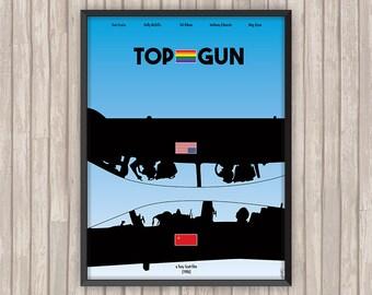 TOP GUN, l'affiche revisitée par Lino la Tomate !