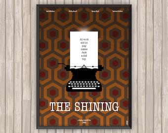 SHINING (The Shining), l'affiche revisitée par Lino la Tomate !