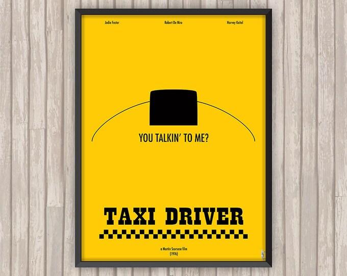 TAXI DRIVER, l'affiche revisitée par Lino la Tomate !