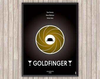 GOLDFINGER, l'affiche revisitée par Lino la Tomate !