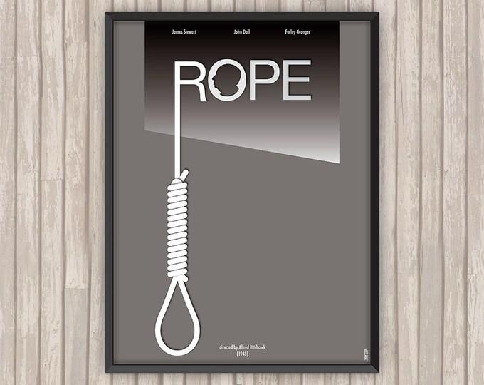 LA CORDE (Rope), l'affiche revisitée par Lino la Tomate !