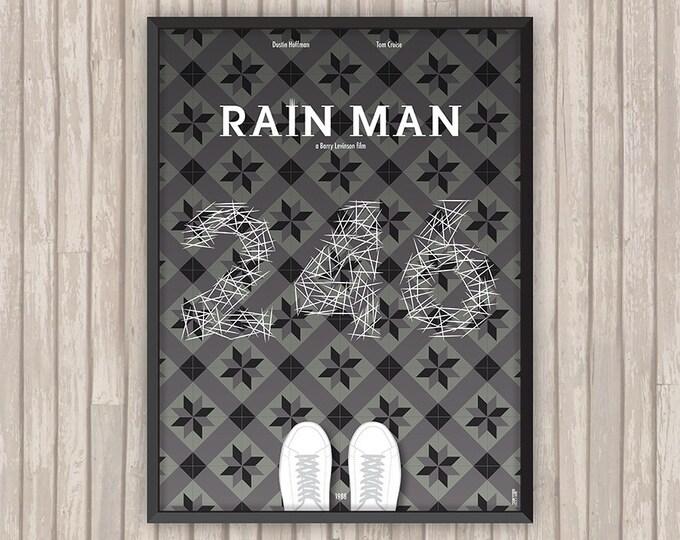 RAIN MAN, l'affiche revisitée par Lino la Tomate !