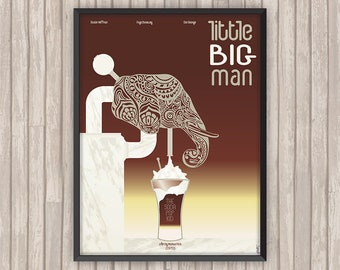 LITTLE BIG MAN, l'affiche revisitée par Lino la Tomate !