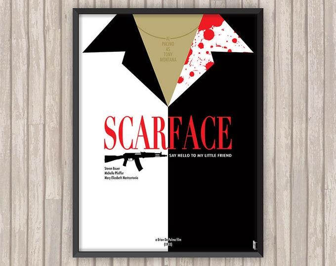 SCARFACE, l'affiche revisitée par Lino la Tomate !