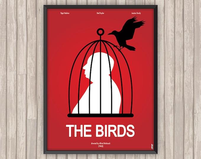 LES OISEAUX (The Birds), l'affiche revisitée par Lino la Tomate !