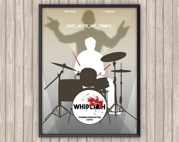 WHIPLASH, l'affiche revisitée par Lino la Tomate !