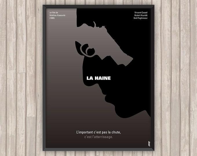 LA HAINE, l'affiche revisitée par Lino la Tomate !