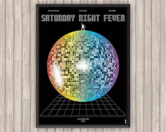 La Fièvre du Samedi Soir (SATURDAY NIGHT FEVER), l'affiche revisitée par Lino la Tomate !