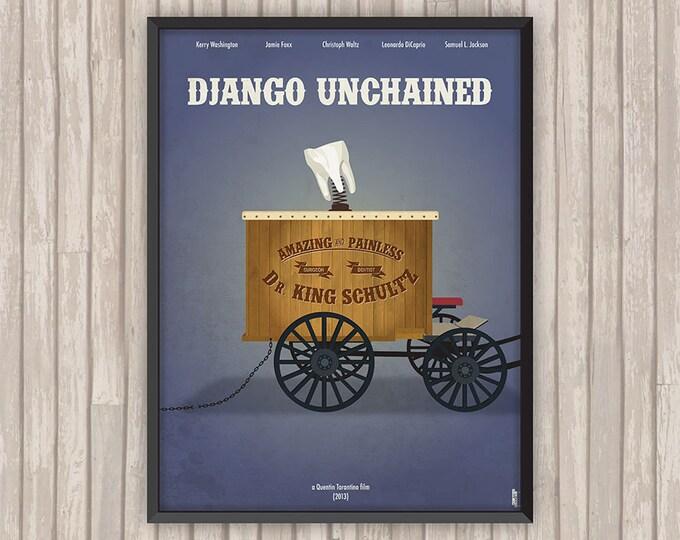DJANGO UNCHAINED, l'affiche revisitée par Lino la Tomate !