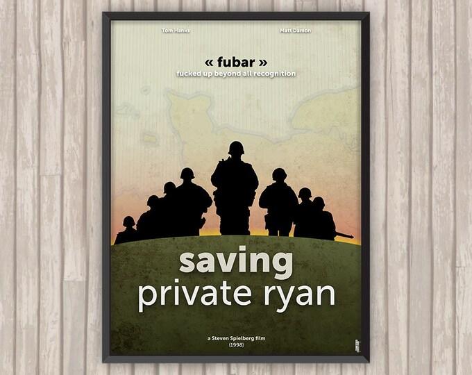 Il faut SAUVER le SOLDAT RYAN (Saving Private Ryan), l'affiche revisitée par Lino la Tomate !