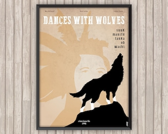 Danse avec les Loups, l'affiche revisitée par Lino la Tomate !