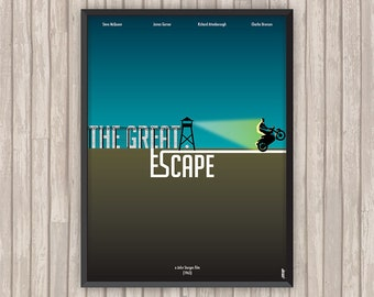 LA GRANDE ÉVASION (The Great Escape), l'affiche revisitée par Lino la Tomate !