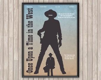 IL était une fois DANS L'OUEST (Once upon a Time in the West), l'affiche revisitée par Lino la Tomate !