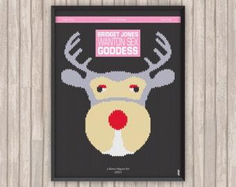 Le JOURNAL de BRIDGET JONES (Bridget Jones's Diary), l'affiche revisitée par Lino la Tomate !