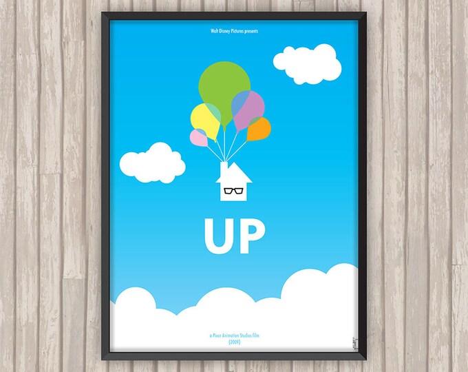 LÀ-HAUT (Up), l'affiche revisitée par Lino la Tomate !