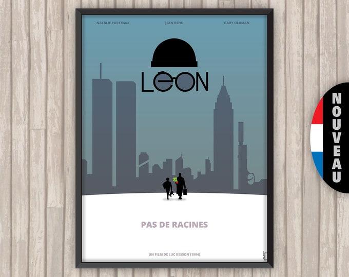 LÉON, l'affiche revisitée par Lino la Tomate !