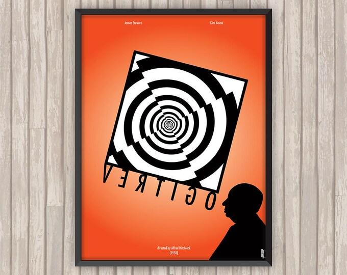 SUEURS FROIDES (VERTIGO), l'affiche revisitée par Lino la Tomate !