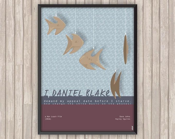 MOI, DANIEL BLAKE (I, Daniel Blake), l'affiche revisitée par Lino la Tomate !