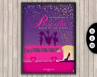PRISCILLA Folle du Désert (The Adventures of PRISCILLA Queen of the Desert), l'affiche revisitée par Lino la Tomate !
