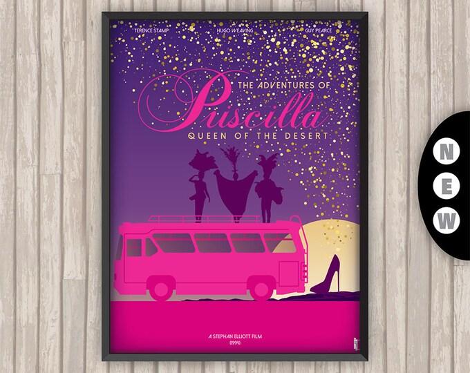 PRISCILLA Folle du Désert, l'affiche revisitée par Lino la Tomate !