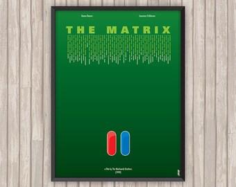 MATRIX (The Matrix), l'affiche revisitée par Lino la Tomate !