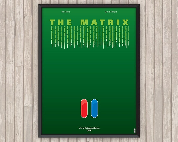 MATRIX (The Matrix), l'affiche revisitée par Lino la Tomate !