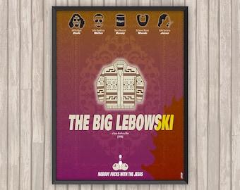 THE BIG LEBOWSKI, l'affiche revisitée par Lino la Tomate !
