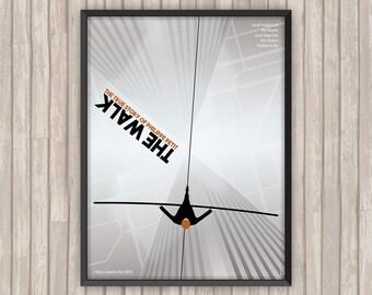 THE WALK : Rêver plus haut, l'affiche revisitée par Lino la Tomate !