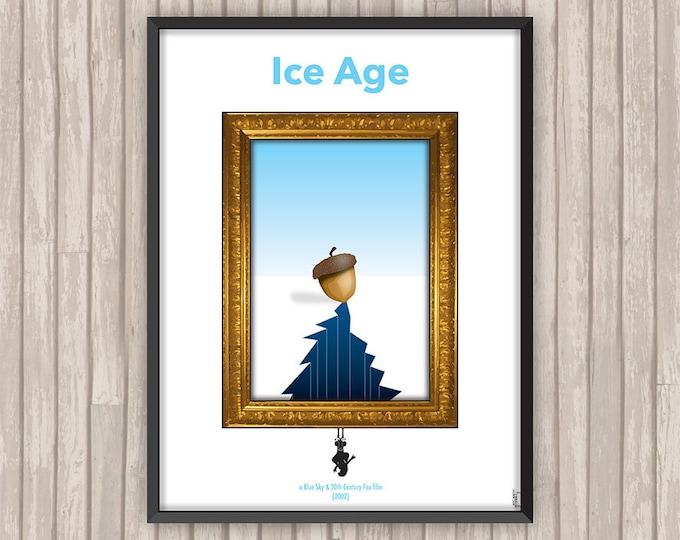 L'ÂGE DE GLACE (Ice Age), l'affiche revisitée par Lino la Tomate !