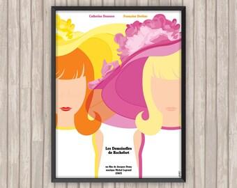 Les DEMOISELLES DE ROCHEFORT, l'affiche revisitée par Lino la Tomate !