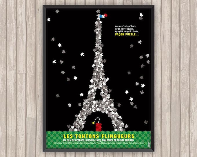 LES TONTONS FLINGUEURS, l'affiche revisitée par Lino la Tomate !
