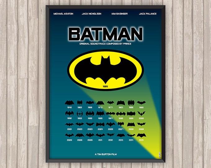 BATMAN, l'affiche revisitée par Lino la Tomate !