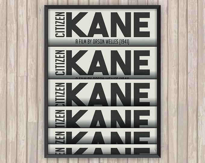 CITIEZN KANE, l'affiche revisitée par Lino la Tomate !