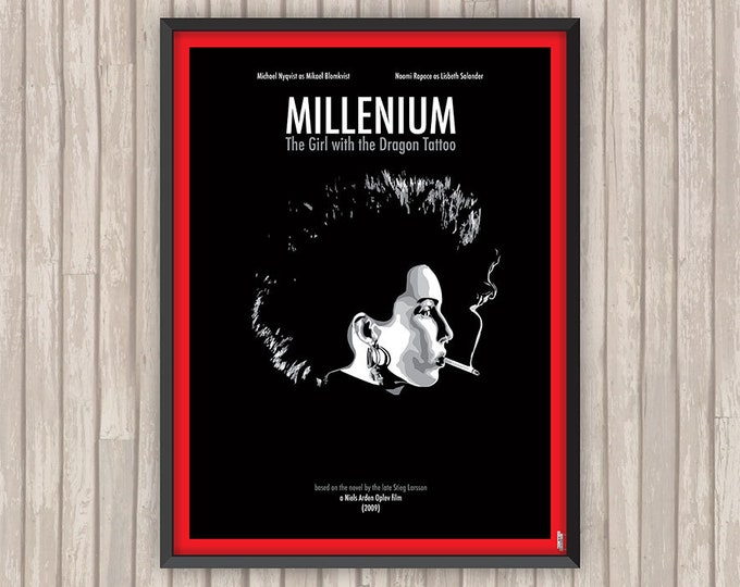MILLENIUM, LE FILM (The Girl with the Dragon Tattoo), l'affiche revisitée par Lino la Tomate !