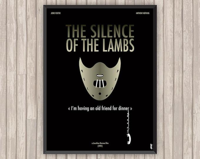 LE SILENCE des AGNEAUX (The Silence of the Lambs), l'affiche revisitée par Lino la Tomate !