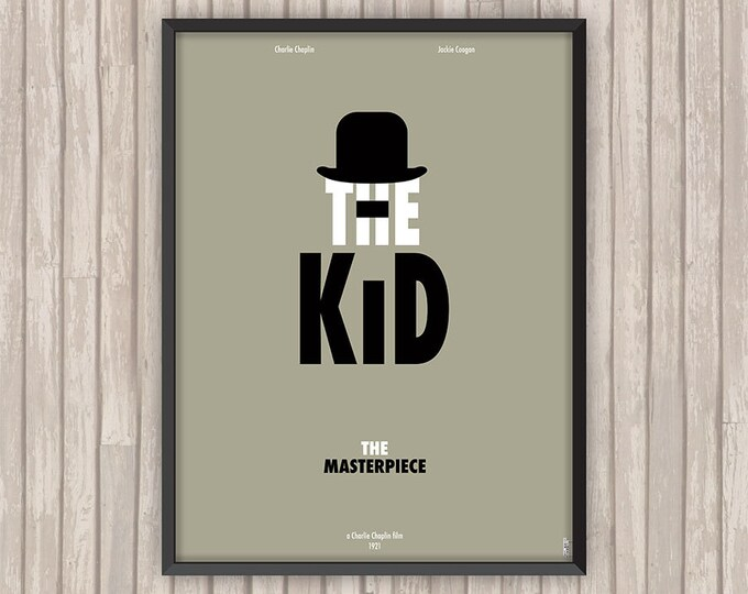 THE KID, l'affiche revisitée par Lino la Tomate !