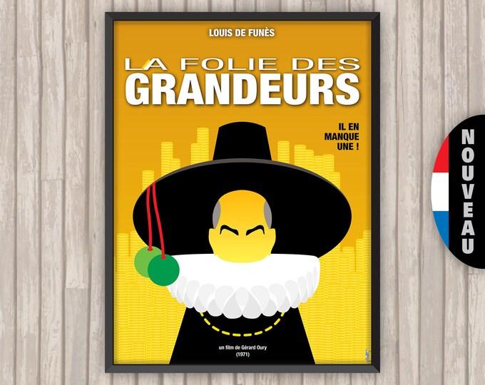 La FOLIE DES GRANDEURS, l'affiche revisitée par Lino la Tomate !