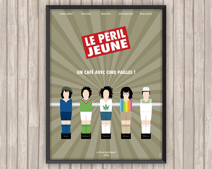 LE PERIL JEUNE, l'affiche revisitée par Lino la Tomate !