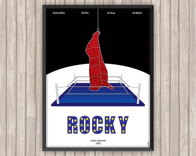 Poster film ROCKY, l'affiche revisitée par Lino la Tomate !
