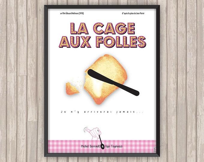La CAGE aux FOLLES, l'affiche revisitée par Lino la Tomate !